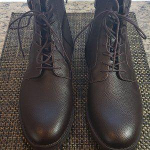 Calvin Klein Men's Farrin Tumbler Boot 8.5